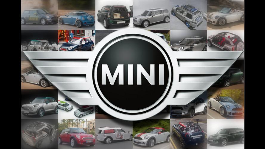 Mini-Studien von 1997 bis heute: Vom Konzeptfahrzeug zur Serie