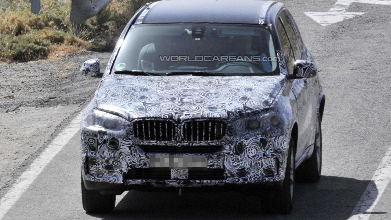 2014 BMW X5 spy photo 08.8.2012