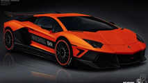 German Special Customs Lamborghini Aventador Estatura GXX