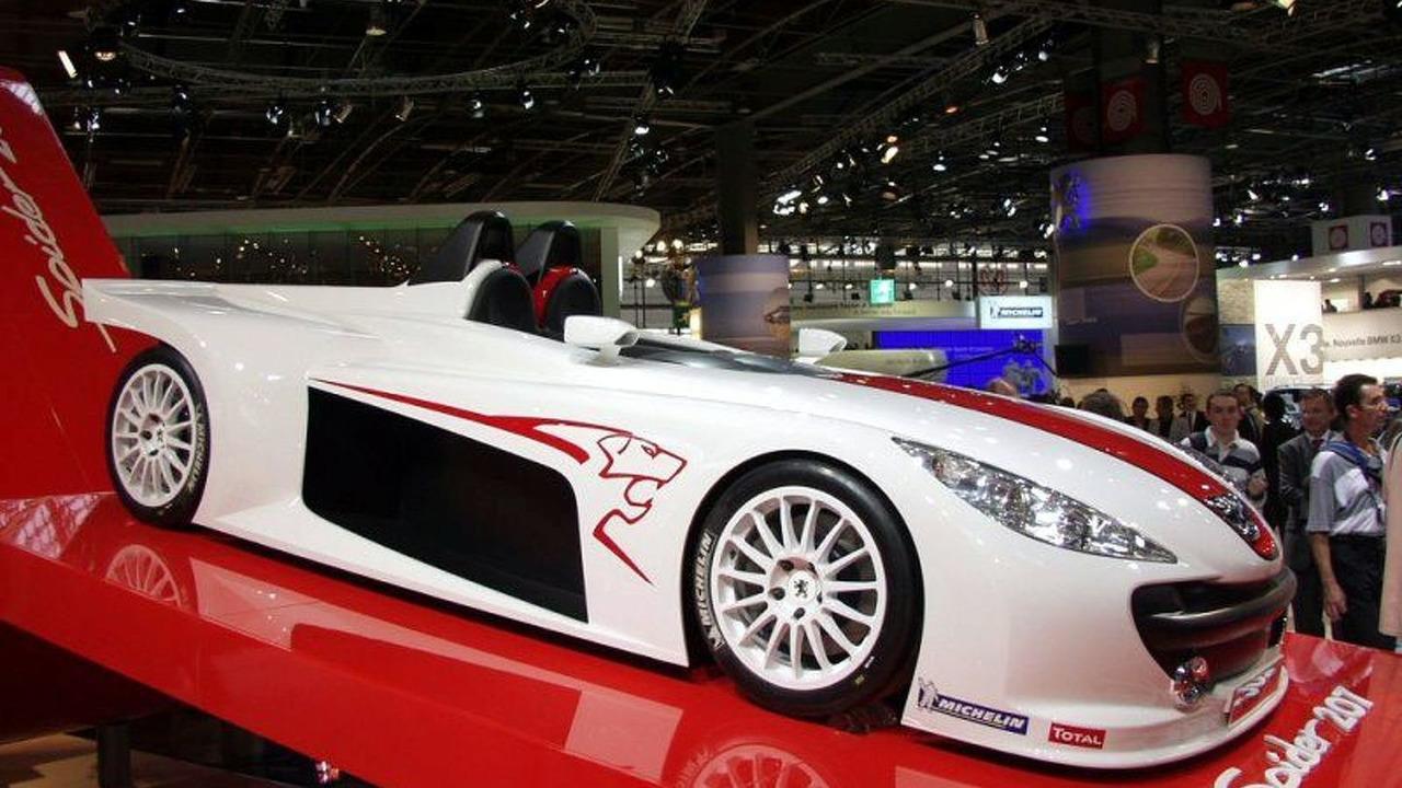 Peugeot Spider 207 at Paris