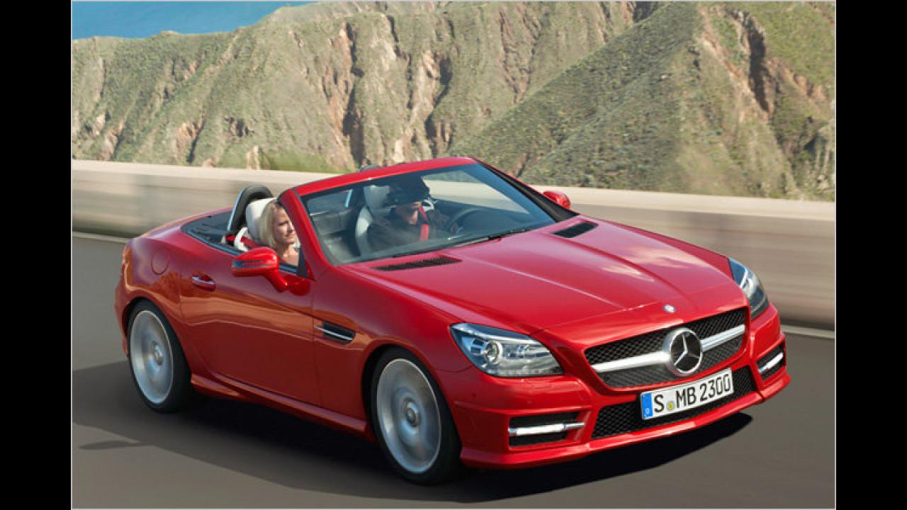 Mercedes SLK 350 BlueEfficiency 7G-Tronic