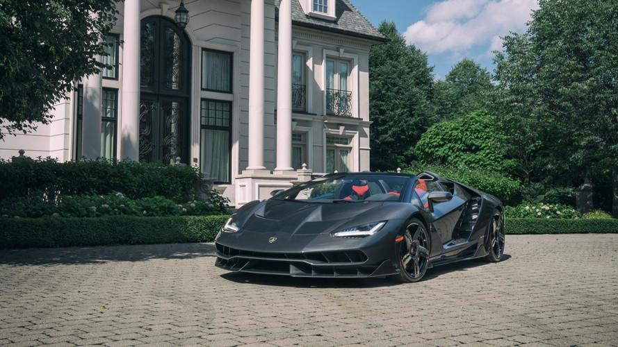 Lamborghini Centenario Roadster Lands In Canada