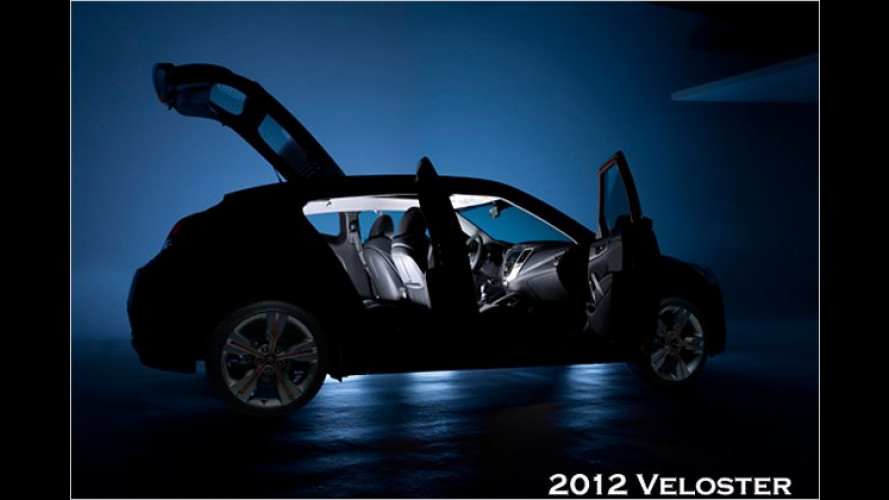 Hyundai Veloster: Coupé-Debüt in Detroit