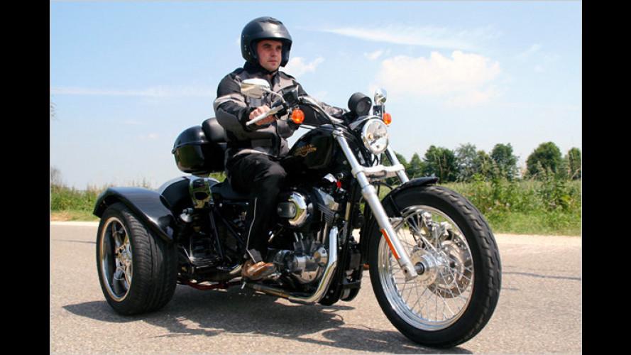 Dreirad-Rocker: Harley fahren für alle