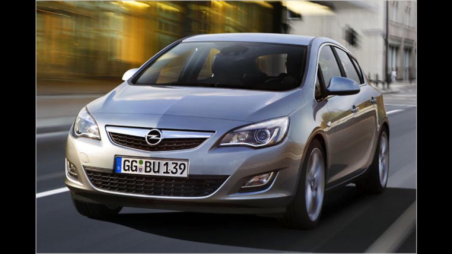 4,42 Meter: Neuer Opel Astra nun deutlich größer als VW Golf