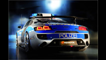 620 PS und Blaulicht