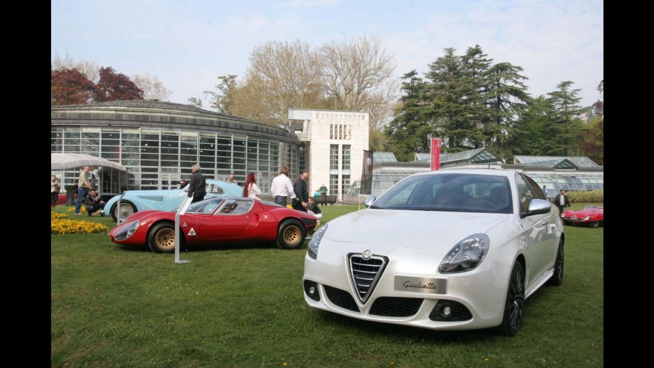 Alfa Romeo Giulietta a Villa d'Este 2010
