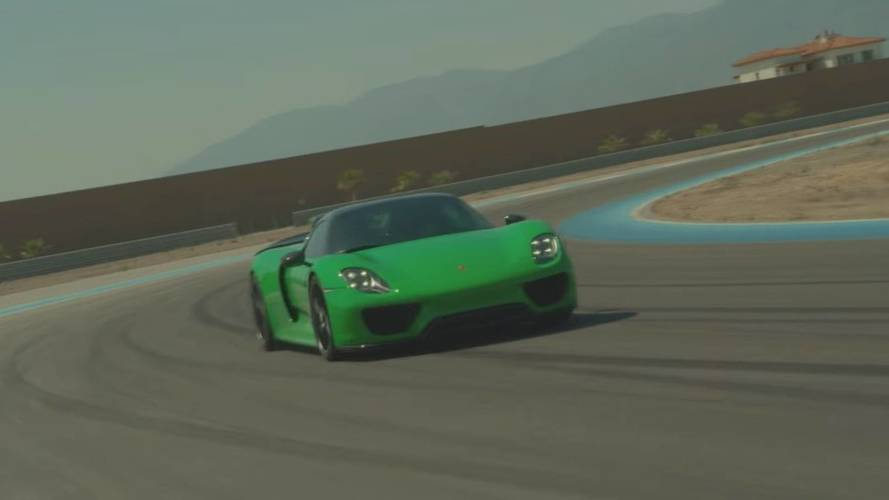 Porsche 911 R And 918 Spyder Thermal Race Club