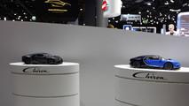 Bugatti Chrion live in Frankfurt