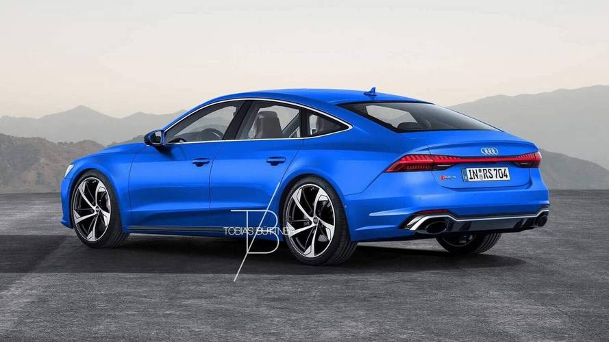 2019 Audi RS7 Render