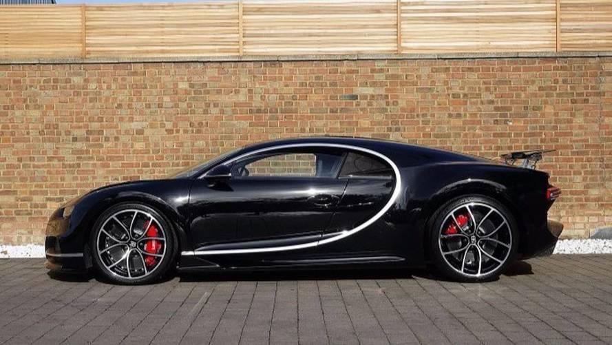 La première Bugatti Chiron britannique à vendre