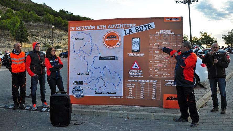 Reunión 2017 KTM Adventure