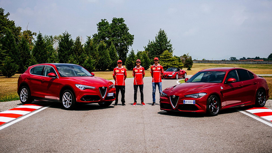Vídeo - Vettel e Räikkönen levam Alfa Romeo Giullia ao limite
