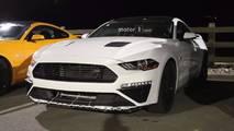 2018 Roush Ford Mustang Casus Fotoğraflar