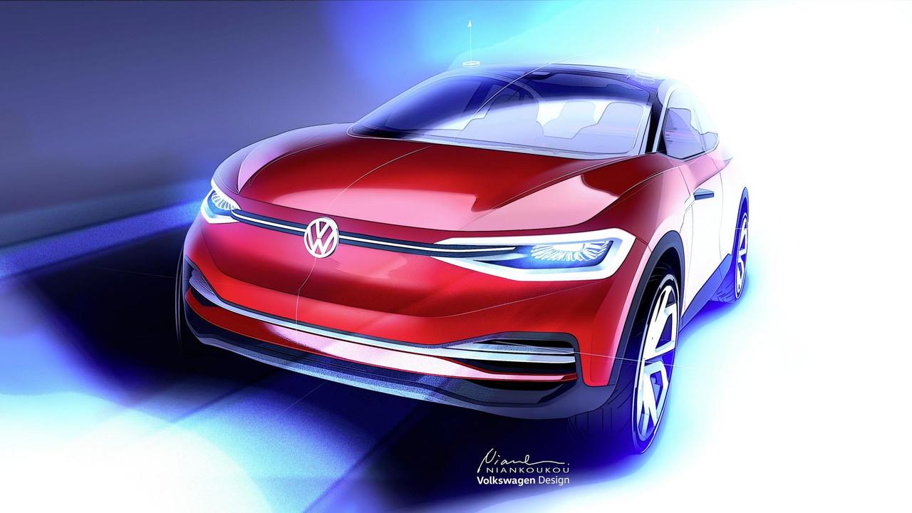Volkswagen I.D. Crozz Frankfurt 2017