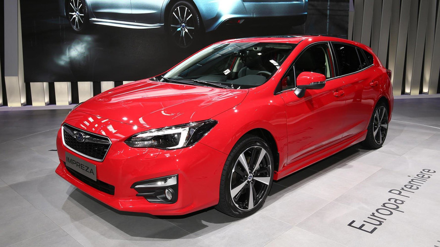 Euro-Spec 2018 Subaru Impreza Revealed In Frankfurt