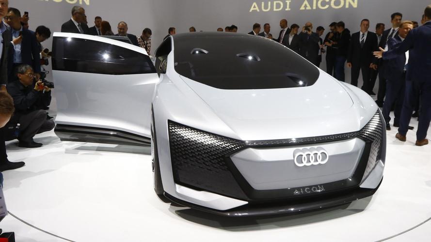 Audi Aicon konsepti Frankfurt'a otonom geleceği getirdi