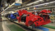 Subaru BRZ Production