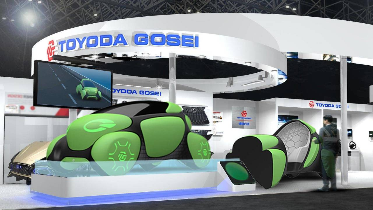 Toyoda Gosei Flesby II konsepti - Kauçuk kabarcıklar
