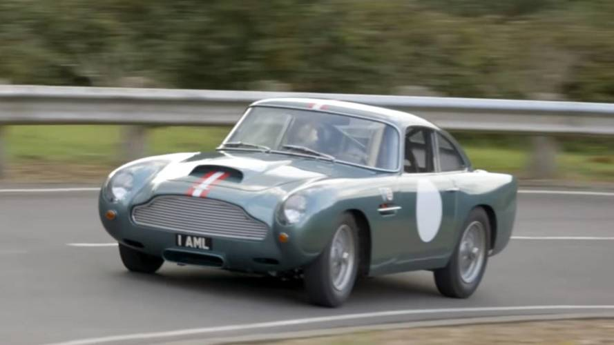 Watch Aston Martin DB4 GT Continuation Prototype Go For A Cruise