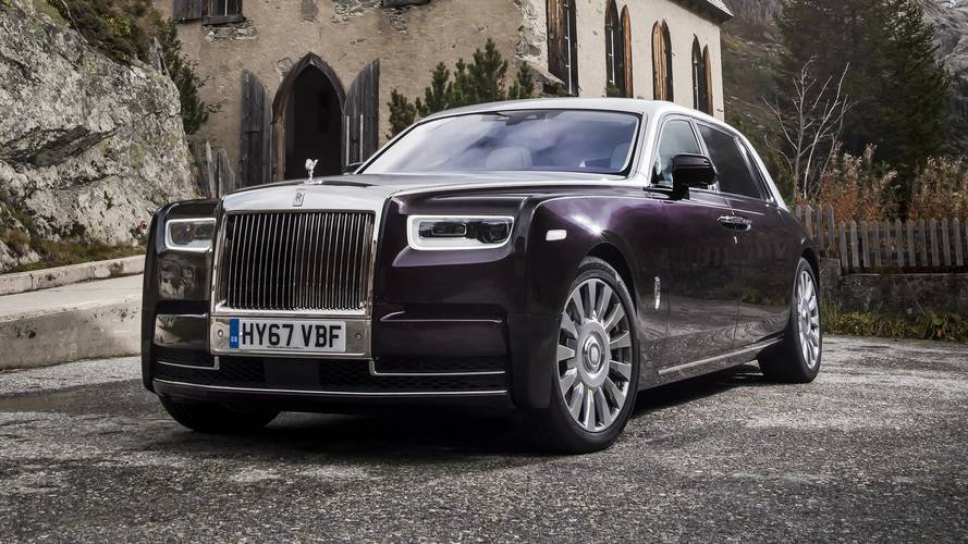 2018 Rolls-Royce Phantom first drive