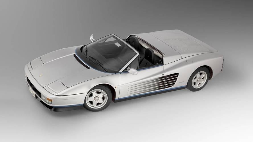 Dünyadaki tek Ferrari Testarossa Spider ile tanışın