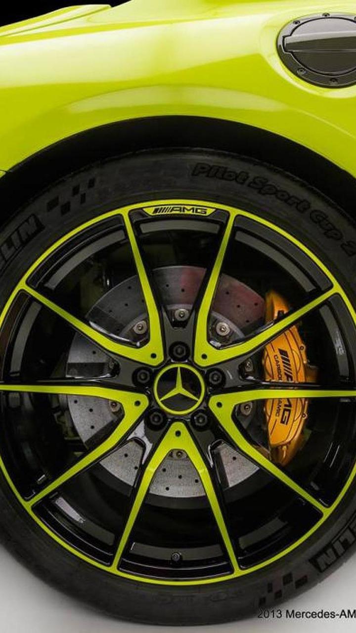 Mercedes SLS AMG Black Series by the AMG Performance Studio