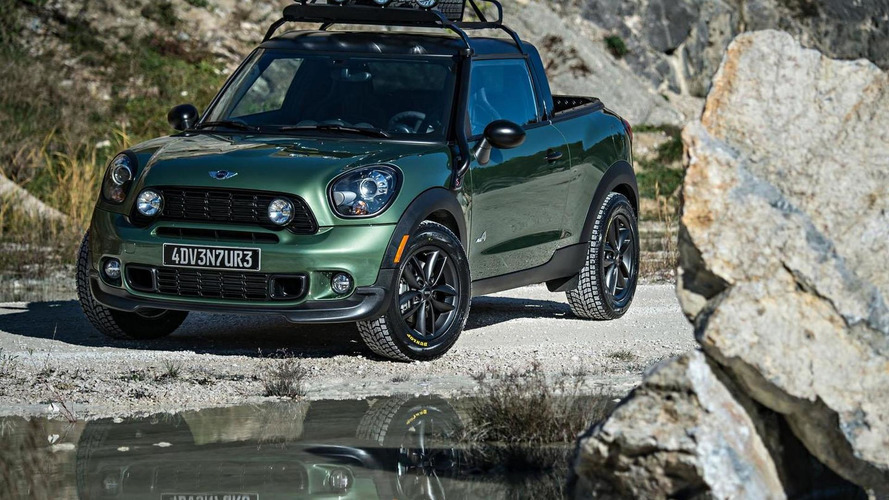 MINI Paceman Adventure concept officially unveiled