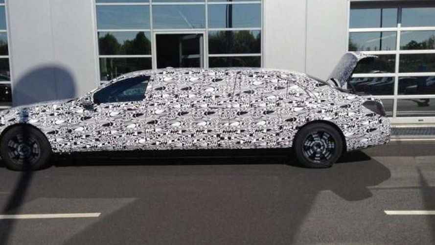 Mercedes-Benz S600 Pullman spied for the first time, will be 6.4 meters long