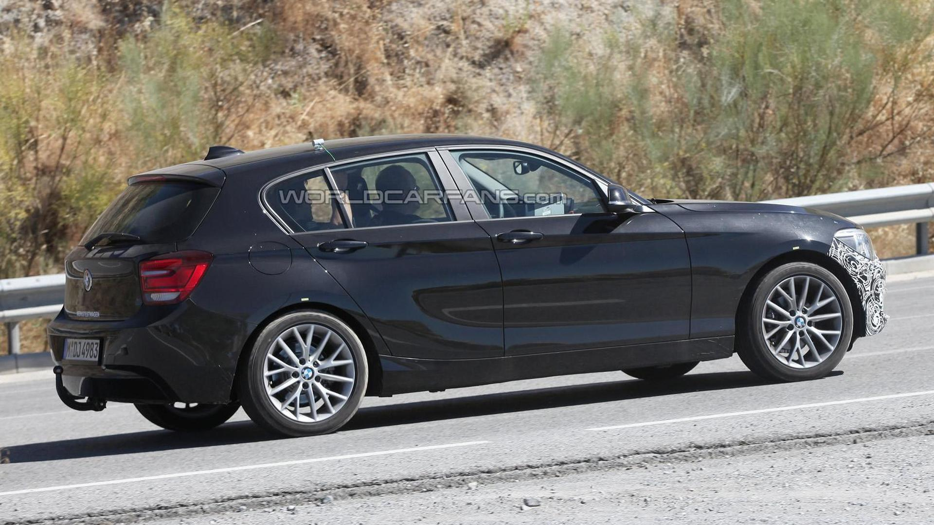 BMW Series Facelift Spied Hiding Modest Changes - Bmw 1 series 2014