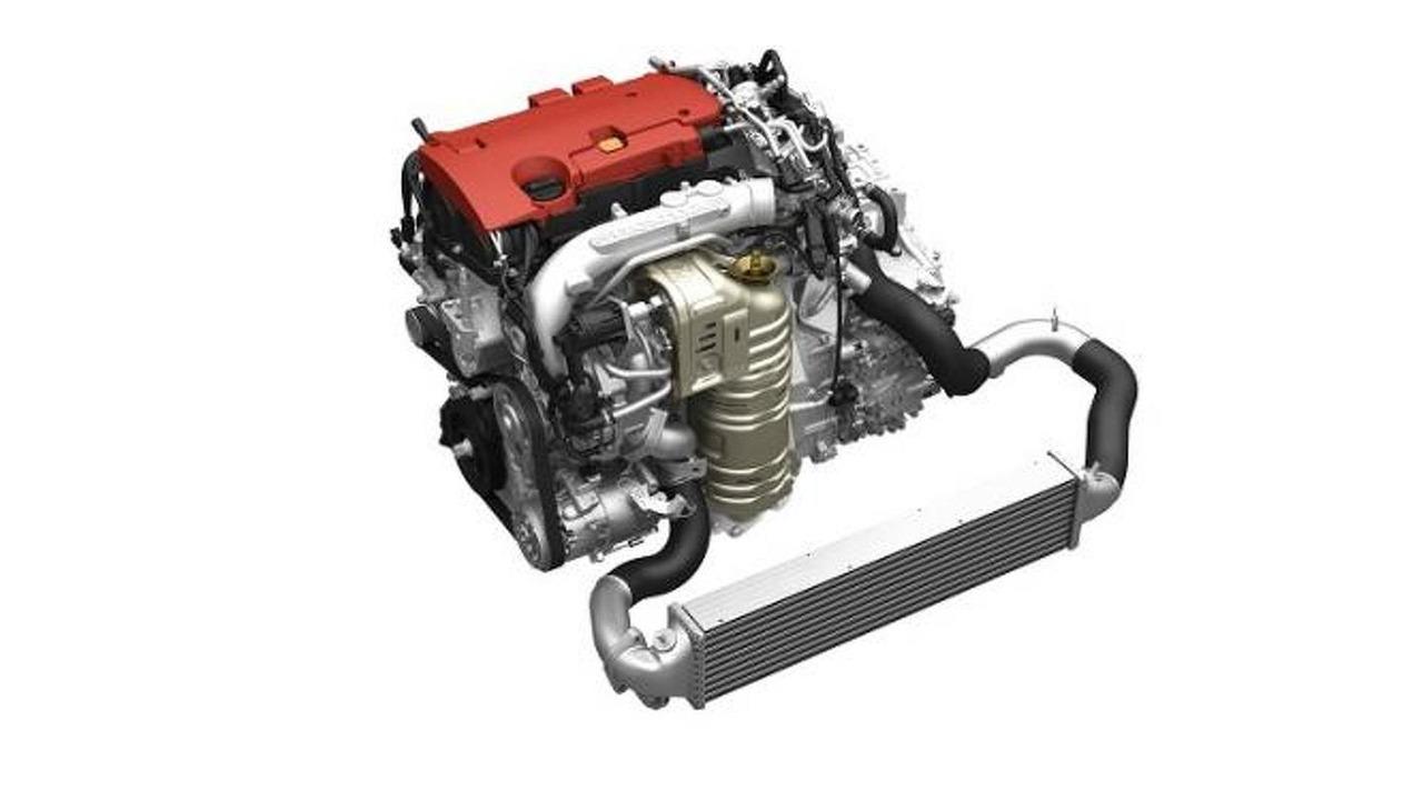 Honda 4-cylinder 2.0-liter VTEC TURBO engine 19.11.2013