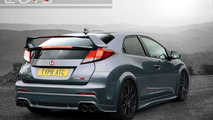 2015 Honda Civic Type R rendered