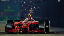 Formula 1 Vision Concept 2025 - Antonio Paglia Design
