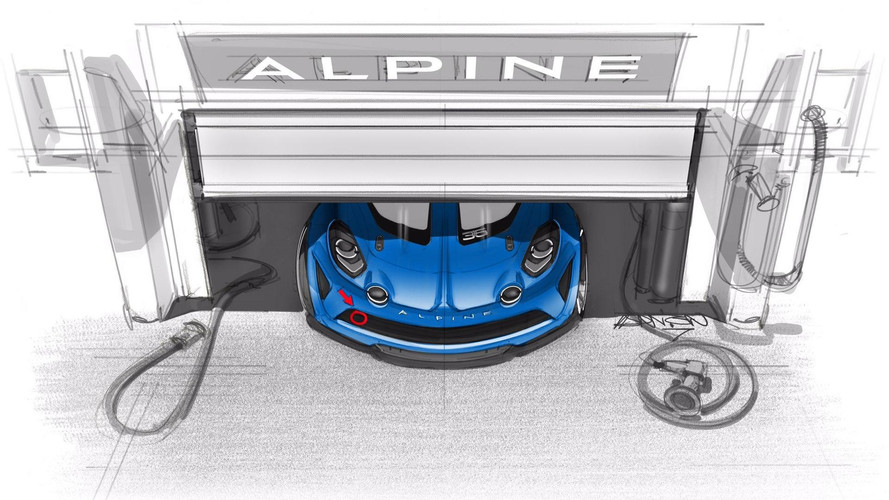 Hardcore Alpine A110 Cup Racer Teased In First Sketch