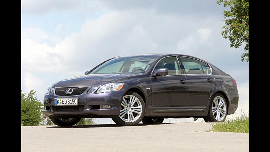 Lexus GS 450h: Jetzt werden Hybridautos richtig schnell