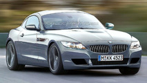2010 BMW Z4 Coupe Artists Rendering