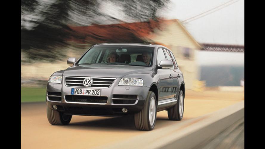Volkswagen Touareg: V6-Direkteinspritzer für den SUV