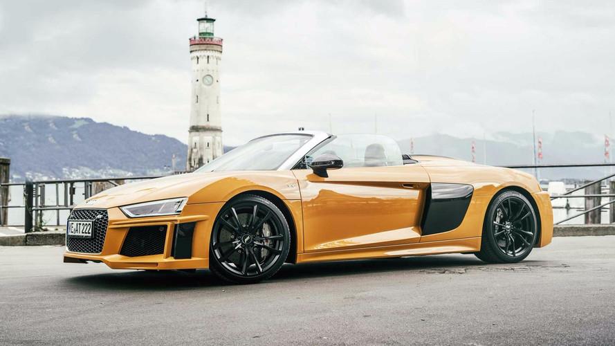 Audi R8 V10 Gets 630 HP