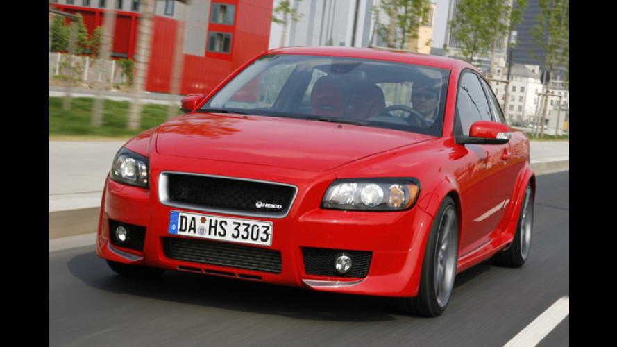 Signalroter Sport-Diesler: Volvo C30 wird von Heico gestärkt