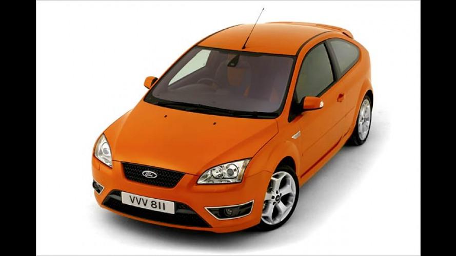 Ford Focus ST 220: Orangener Orkan in Genf