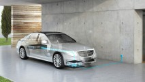 Mercedes-Benz S500e'ye 2017'de kablosuz şarj ve daha uzun yol imkânı
