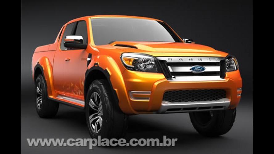 Ford revela a nova Ranger Max - Nova versão deve chegar ao Brasil em 2009