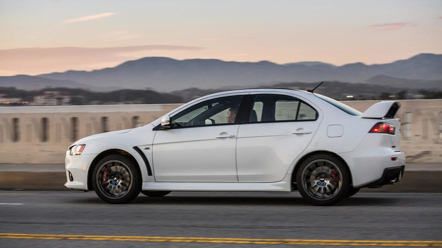 Last Mitsubishi Lancer Evo successfully auctioned for charity