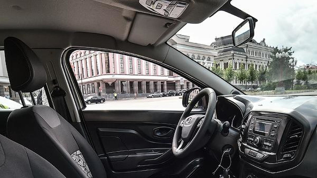 Lada XRAY interior photo