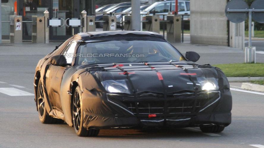 Ferrari 599 successor spied in Maranello
