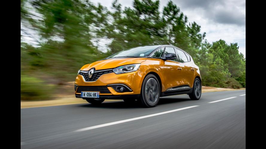 Nuova Renault Scenic, le prime foto