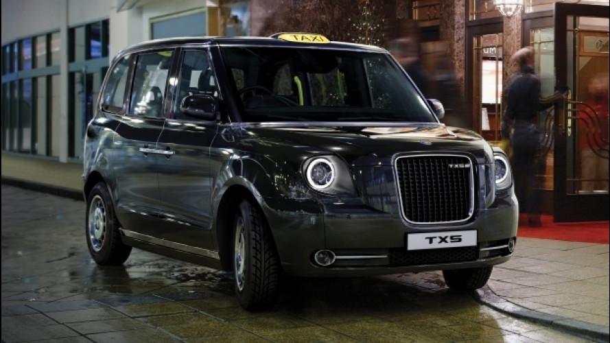 Taxi elettrici, la rivoluzione parte da Londra
