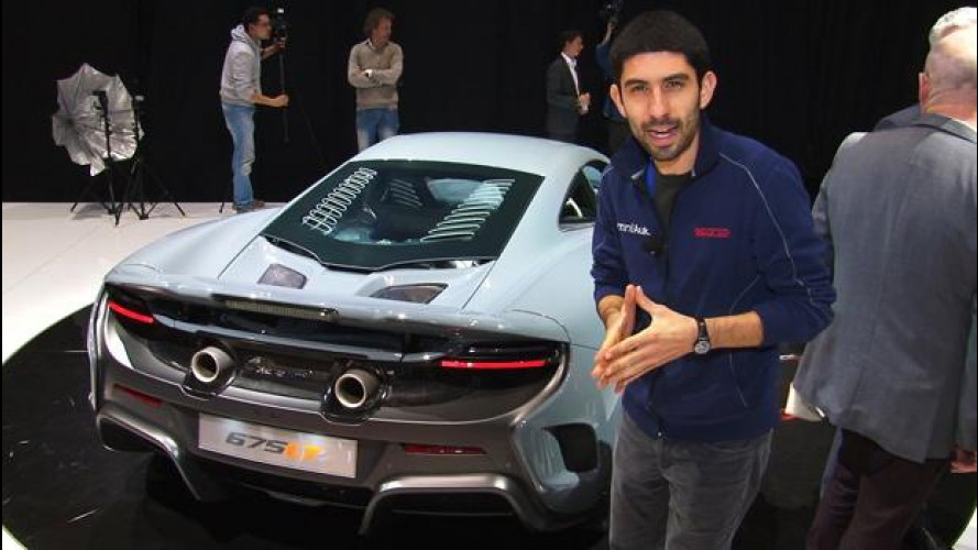 McLaren 675LT, a Ginevra ci siamo saliti a bordo!