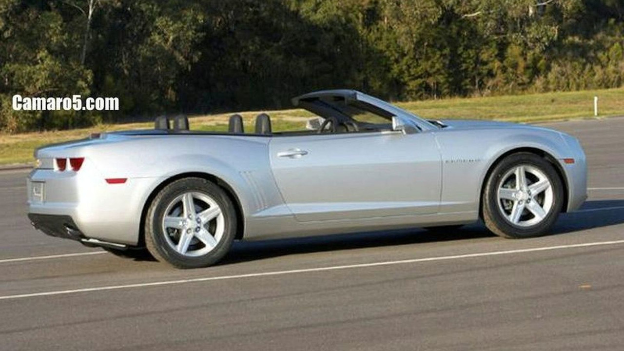 Chevrolet Camaro Cabriolet - real or photoshop?