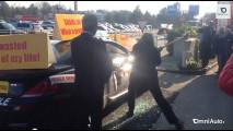 BMW presa a martellate